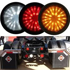 led lights for trucks and trailers 30 led reverse tail rear warning l light for trailer truck lorry