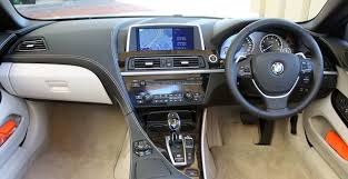 bmw 6 series interior 2012 bmw 6 series convertible autoblog