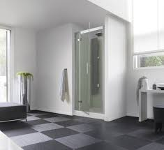 kinedo horizon recess watertight pivot door shower cubicle pod