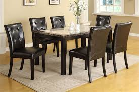 faux marble dining room table set atlas i faux marble black dining table set black dining tables