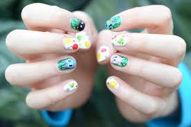 animal print nail art designs step by summer nail designs animal