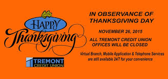 tremont cu thanksgiving day