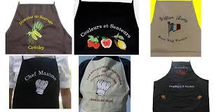 tablier de cuisine personnalisé brodé tablier de cuisine personnalisé brodé pd14 jornalagora