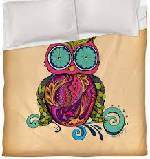 cute owl bedding for a fun owl bedroom
