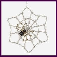 beaded spider ornament kit welcome to my web