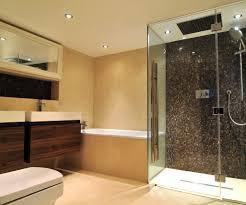 mosaic tile design bathroom beach style with gray mosaic tile