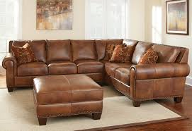 Chestnut Leather Sofa Sofas Magnificent Genuine Leather Couches Studded Sofa Best