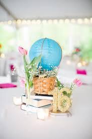 lanterne de sol en papier centre de table mariage u2013 des montgolfières invitent au delà des