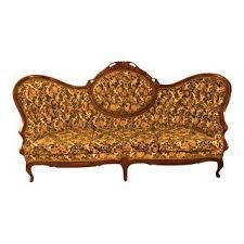 Victorian Sofa Reproduction Vintage U0026 Used Victorian Standard Sofas Chairish