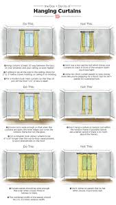 where to hang curtains dos don ts of hanging curtains tips measurements apartment