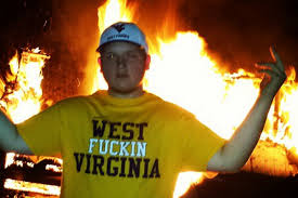 west virginia fans burn couches so often outdoor furniture is now