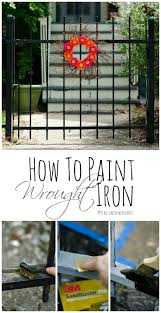 How To Paint Wrought Iron Patio Furniture by Best 25 Wrought Iron Fence Cost Ideas On Pinterest Halloween