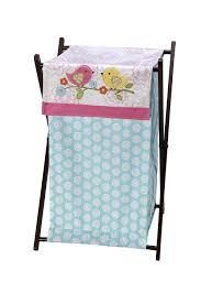 Baby Laundry Hamper by Amazon Com Nojo Love Birds Hamper Nursery Hampers Baby