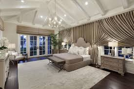 Crown Molding Vaulted Ceiling by Traditional Master Bedroom With Chandelier U0026 Carpet In Delray