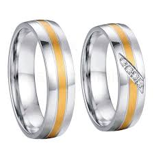 stainless steel wedding sets cheap stainless steel wedding rings men find stainless steel
