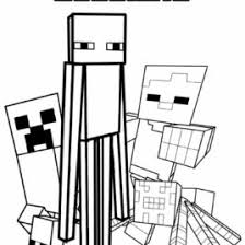 coloring minecraft kids drawing coloring pages marisa
