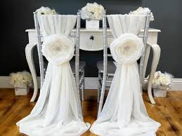 chair sashes for weddings diy wedding chair sashes wedding thingz