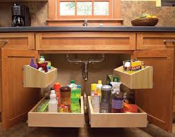 kitchen sink pull out storage diy cozy home