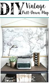 office wall art wall arts cheap office wall art diy vintage pull down map cheap