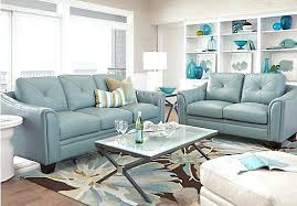 Blue Living Room Set Light Blue Living Room Furniture Uberestimate Co