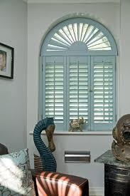 interior blinds shutters blue color for living room window inside