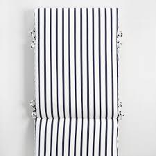 sunbrella indigo lido stripe outdoor chaise lounge cushion world