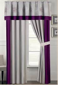 3 Panel Window Curtains Provence Embroidered Curtain Set
