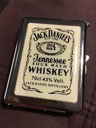 Jack Daniels Flag Used Jack Daniels Cigarette Case With Lighter In Blackpool For