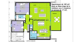 appartement 2 chambre appartement 2 chambres de 102 m2 avec terrasse de 17 m2 relay immo