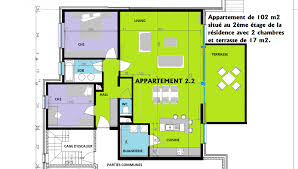 appartement 2 chambres appartement 2 chambres de 102 m2 avec terrasse de 17 m2 relay immo