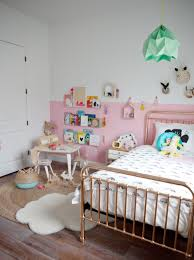 color block bubblegum pink u2026little girls room reveal u2013 destination