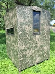 bushlan camo outfitter aws hunting blind the outfitter blind 5 5 bushlan outfitter bow rifle ground blind