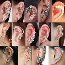 s ear cuffs fashion clip ear cuff stud women s wrap cartilage