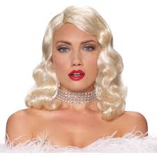 halloween city marion indiana blonde wigs