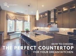 choosing the right countertop for your dream kitchen sandy