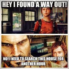 Know Your Meme The Game - the last of us and looting video game logic know your meme