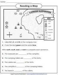 my neighborhood map math worksheets maps and worksheets