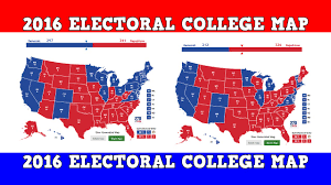 Texas Election Map by 2016 Electoral Map Prediction Youtube