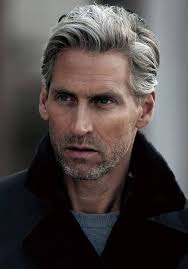 stylish cuts for gray hair best 25 grey hair men ideas on pinterest mens grey hairstyles