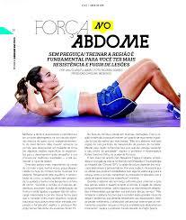 Excepcional Eu no recheio da revista O2 com treino para focar no abdome  @BS67