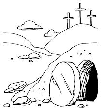 clipart jesus empty tomb