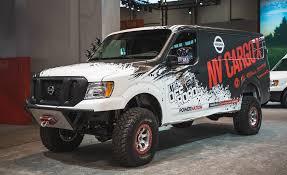 lexus family van nissan u0027s lifted turbo diesel 4x4 van could deliver packages