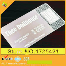 Business Card Invitation Online Buy Wholesale Metal Business Cards China From China Metal