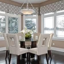 Dining Room Window Treatment Ideas Pleated Horn Valances On A Thin Steel Rod Treatment Pinterest
