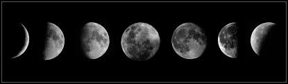 b w moon phases moon phases waxing crescent qua flickr
