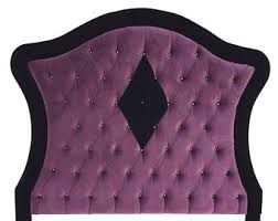 queen size faux leather upholstered tufted headboard with