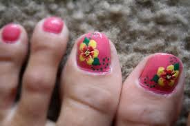 pink toe nail designs images nail art designs