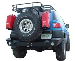 jeep rear bumper with tire carrier lod fj cruiser rear bumper w swing out tire carrier lod fj
