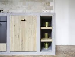 custom made kitchen cabinets concrete kitchen cabinets bold and ideas in modern