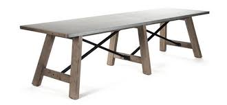 large trestle dining table extra long trestle dining table design ideas throughout prepare 7